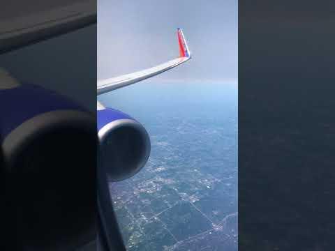 Southwest Flight 1975 - Denver to Detroit - 9/01/2017