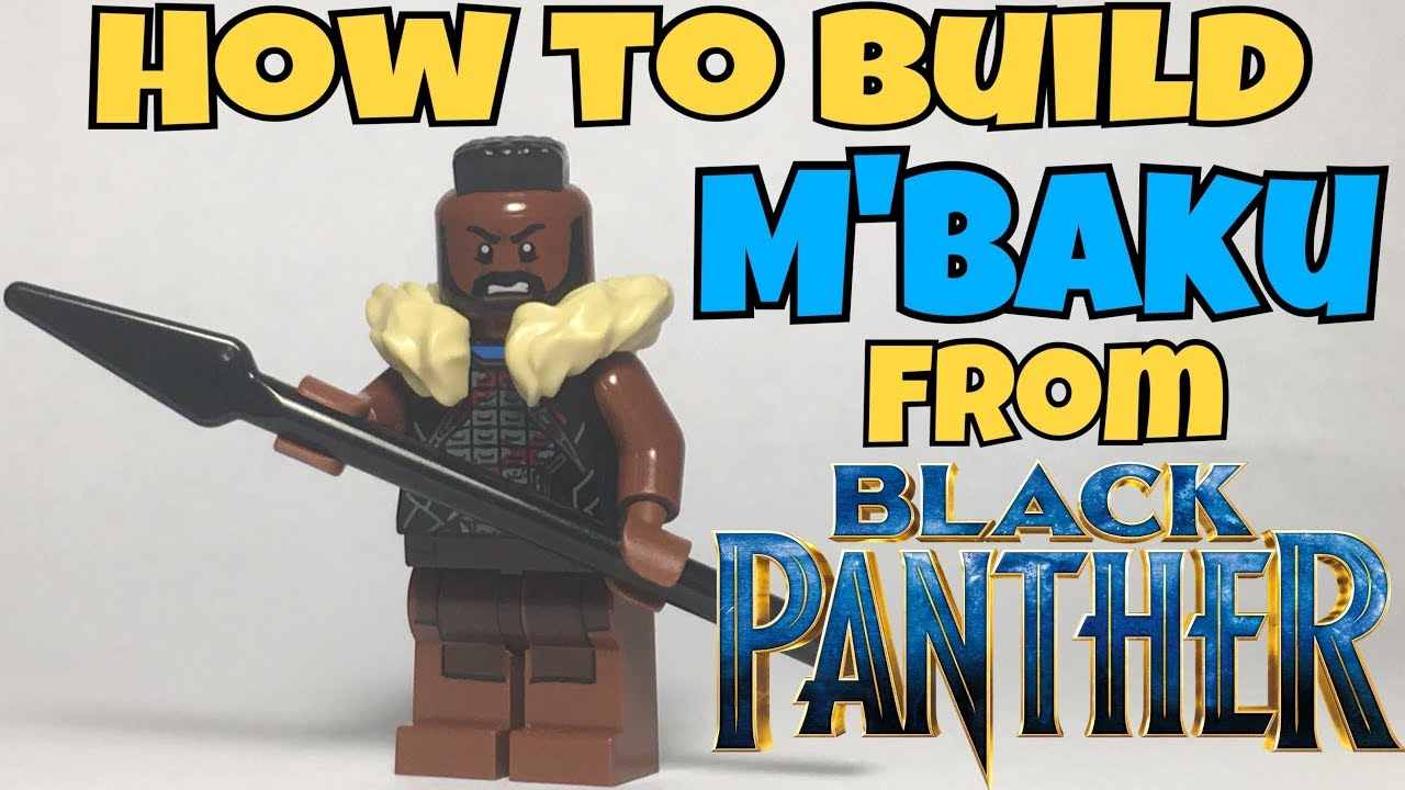 How To Make Lego Mbaku From Black Panther Purist Method Youtube