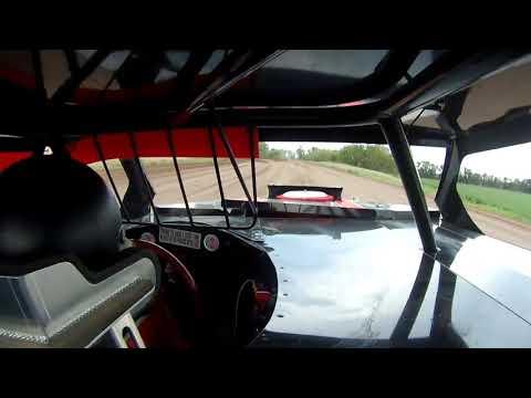 "Salina Speedway ""CSR MFG. IMCA Northern Sportmods"" On board with 34S Sturgis Streeter (hotlaps) 7-27"
