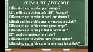 FRENCH TEF