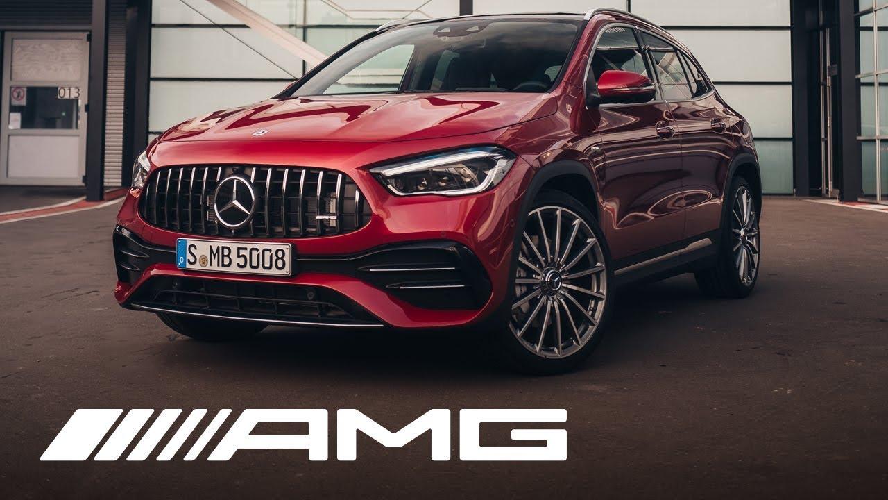 Mercedes Amg Gla 35 4matic 2020 Walkaround Youtube