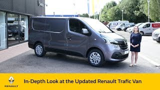 new 2020 Renault Trafic Van Walk Around Review