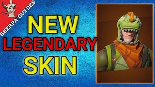 Nouvelle peau légendaire de Rex (fr) Fortnite Battle Royale - France Scaley Back Bling - France Mise à jour du magasin