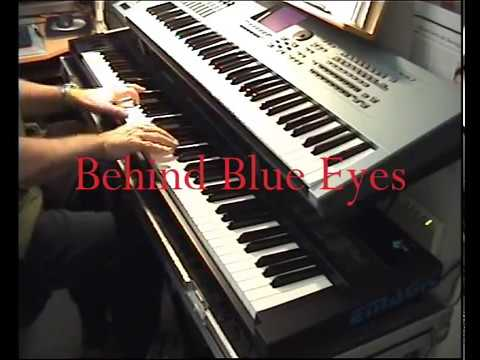 Behind Blue Eyes - Piano Cover - Sheet music