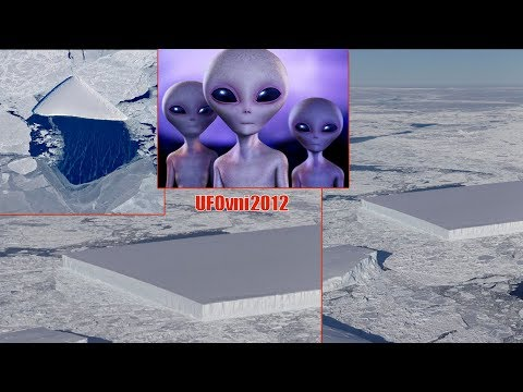 nouvel ordre mondial | Extraterrestrials? NASA Publishes the Image of a Mysterious, Perfectly Rectangular Iceberg - October 2018