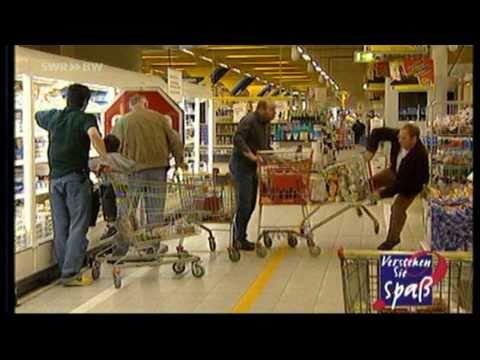 Superspaß im Supermarkt: