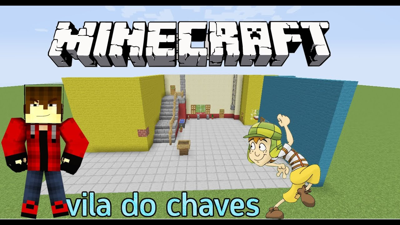 Minecraft: Vila Do Chaves: Construindo O Patio Principal