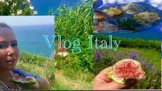 vlog italy travel relax nature италия море парфюм инжира обед релакс природа