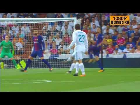 Gol de Marco Asensio Real Madrid Vs Barcelona (Vuelta) Super Copa De España 2017