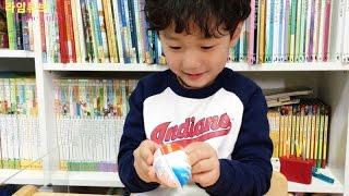 킨더조이 서프라이즈 에그 장난감 놀이 Kinder Joy Surprise Egg Toys Play Игрушки 라임튜브