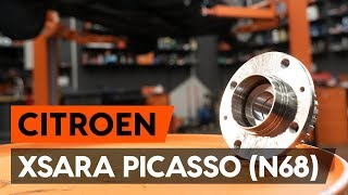 Så byter du bakre hjullager på CITROEN XSARA PICASSO (N68) [AUTODOC-LEKTION]