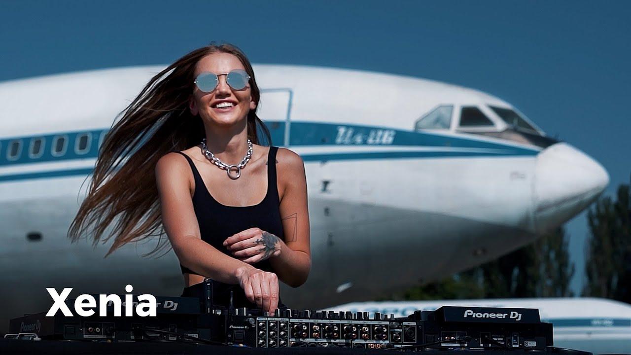 Xenia - Live @ Radio Intense, The State Aviation Museum, Kyiv, Ukraine 22.07.2021 / Techno DJ Mix 4K