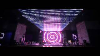 DMX LED Pixels & Digital LED strip intalation by Music Shop Ellectrica at Club Da Vinci