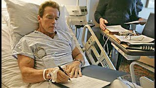 Arnold Schwarzenegger Recovers In Hospital From Heart Surgery