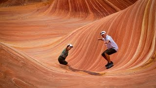 Gambar cover The Wave North Coyote Buttes Arizona HD