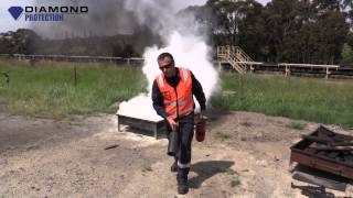 Extinguisher Use - How to Use a Fire Extinguisher - Safety/Health/Workplace