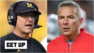 Jim Harbaugh called out Urban Meyer to give Michigan a recruiting edge - Dan Orlovsky | Get Up