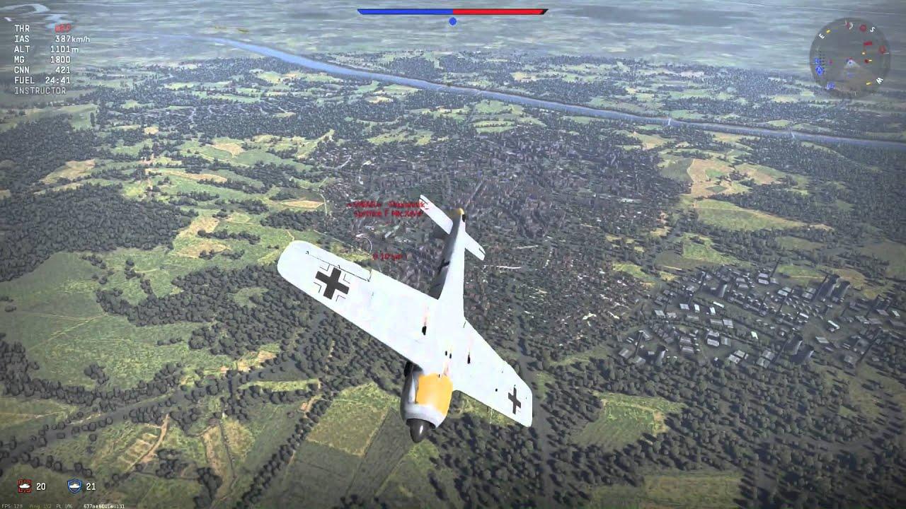 вар тандер fw 190a 1