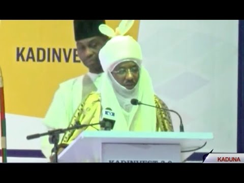 Emir of Kano, Sanusi Lamido Sanusi at the Kaduna Investment