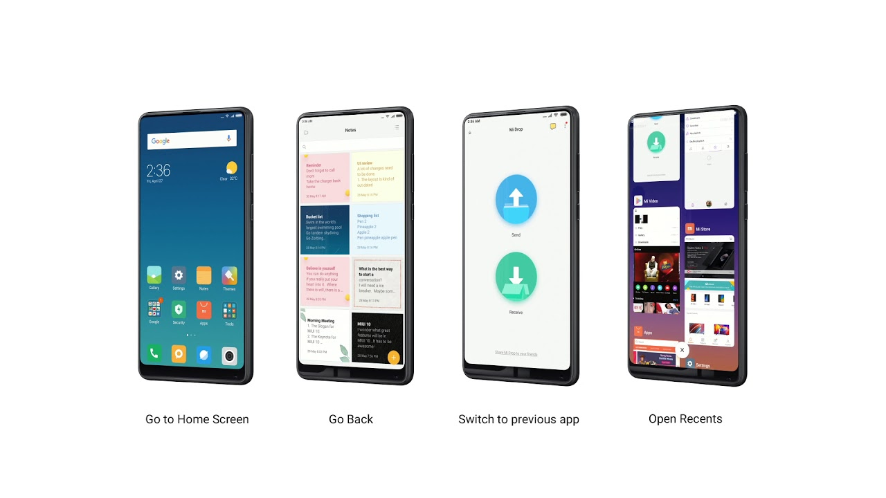 Introducing MIUI 10, Designed For Full Screen Experience - News