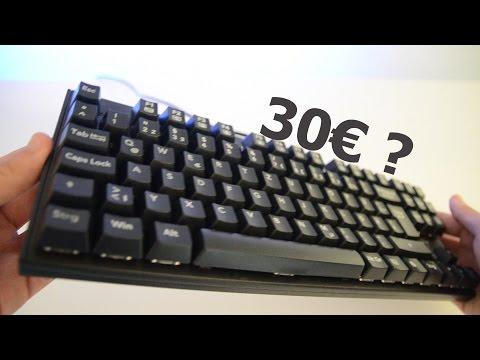 30€ FÜR EINE MECHANISCHE TASTATUR? -VicTsing Tastatur
