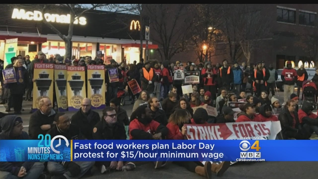 Local fast food workers to strike for $15 minimum wage