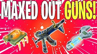 25 FULLY MAXED OUT SCHEMATICS! Insane OP STW Account Overview | Fortnite Save The World
