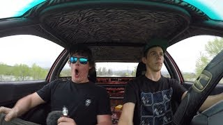 Giving Ricer Miata a Ride in the Hatch!