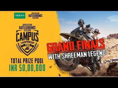 PUBG Mobile Campus Championship ll  Grand Finals 2018