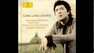 Frédéric Chopin Piano Concerto No.1 in E minor Op.11, Lang Lang