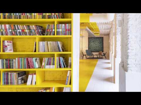 Refined Office in Madrid Showcases How to Use Yellow in Style