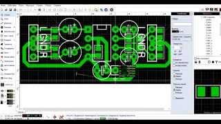 Как нарисовать плату в Sprint Layout 6 - Видеоурок - ЧАСТЬ 1