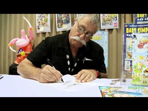 Sergio Aragones Draws and Discusses Groo the Wanderer