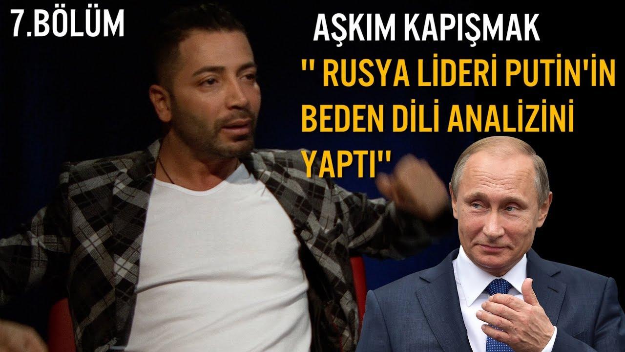 Vladimir Putin'in Beden Dili Analizi - Aşkım Kapışmak ( Mahalle Kabadayısı Gibi Yürür )