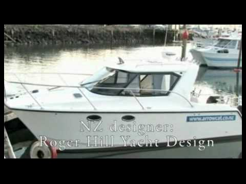 Boat for sale arrowcat new zealand youtube for Outboard motors for sale nz