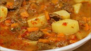 Картошка с курицей и овощами   Быстрый и вкусный ужин для всей семьи
