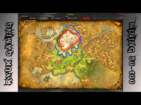 World Of Warcraft: Mining 50-100 (Tin)