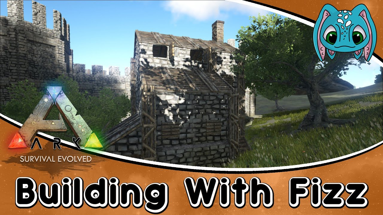 ark survival evolved building w fizz how to build a small ark survival evolved building w fizz how to build a small hillside house youtube