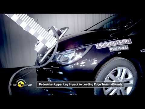 2016 Opel/Vauxhall Astra - 5 Star Rating EuroNCAP Crash Test
