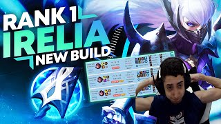 This 17-year-old Hit Rank 1 With This Strange Irelia Build... (JEAN MAGO)