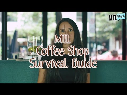 ☕ SUPPORT YOUR LOCAL COFFEE SHOPS!!!!! - MTL Blurb