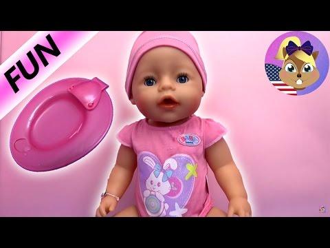 baby born doll videos english - Baby Born Interactive Zapf Creation | Demo and Review English