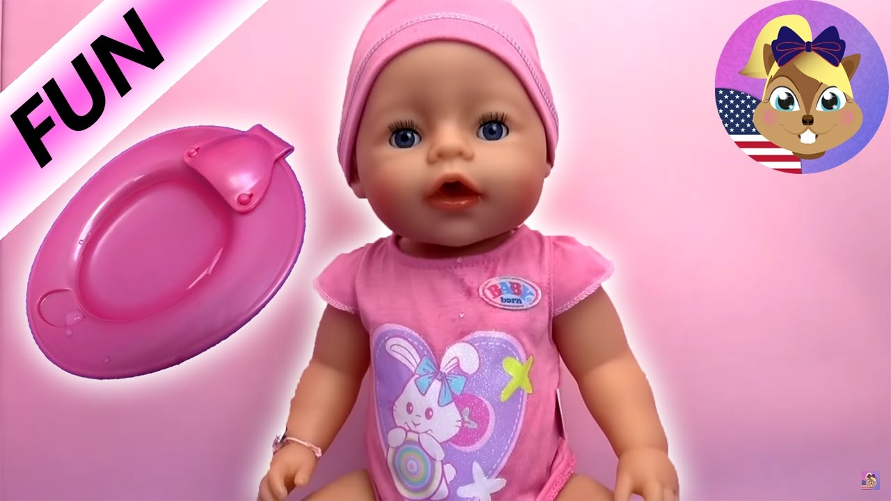 89d04fd7ab9 baby born doll videos english - Baby Born Interactive Zapf Creation ...