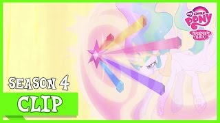 Princess Celestia Banishes Nightmare Moon (Princess Twilight Sparkle)  MLP FiM HD