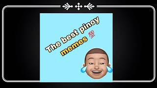 Pinoy funny memes and vlogs sound effect