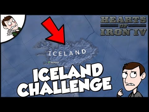 Hearts of Iron 4 HOI4 Iceland Scandinavia Challenge