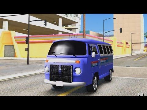 VW Kombi ESCOLAR - GTA San Andreas 1440p / 2,7K _REVIEW