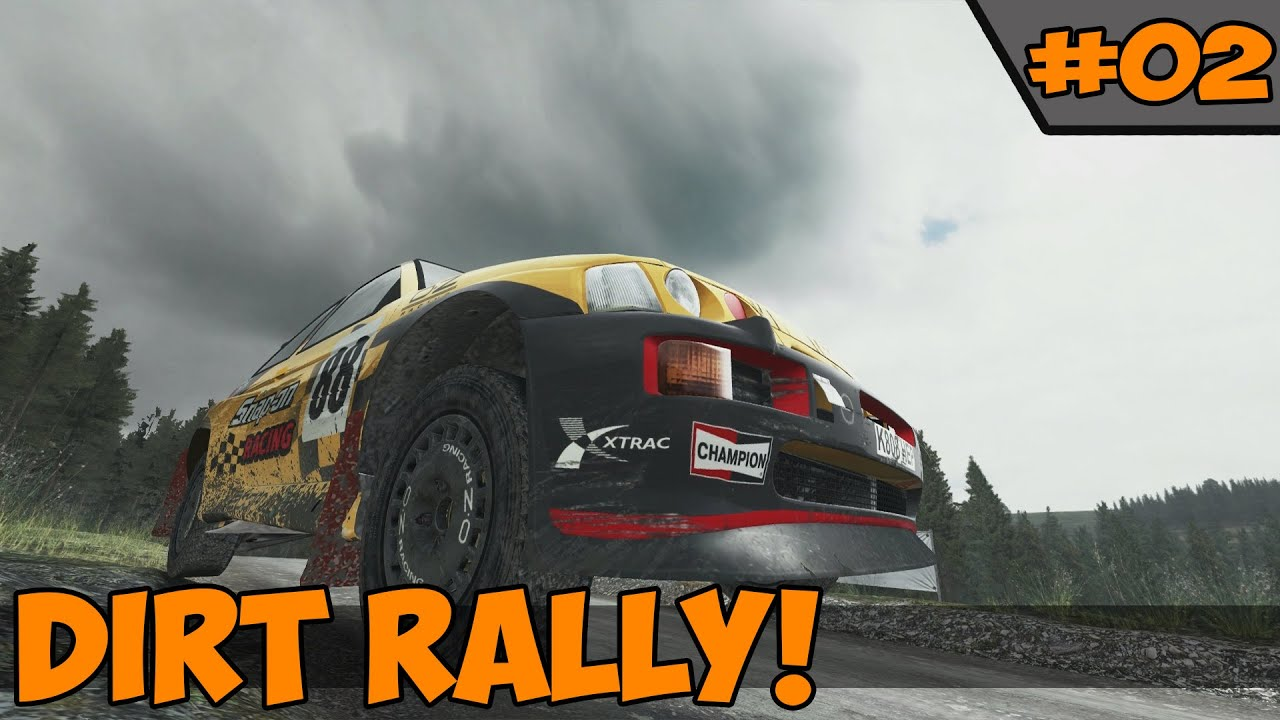 Dirt Rally River Severn Valley Wales Youtube