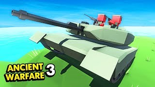 NEW TANKS UPDATE IN ANCIENT WARFARE 3! (Ancient Warfare 3 Funny Gameplay)