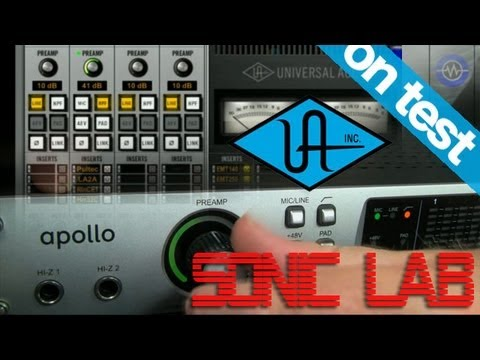 Universal Audio Apollo DSP powered audio interface